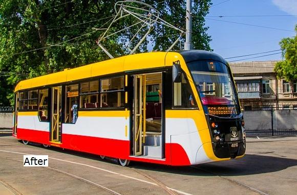 Модернизация трамвая GT4